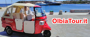 Olbia Tour by Ape Romantic Tour - Costa Smeralda Sardegna
